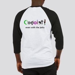 Co-Exist Section Baseball Jersey