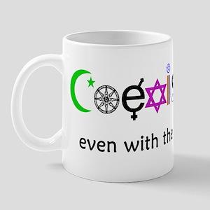 Co-Exist Section Mug