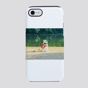 Lifeguard stand at Percy Pries iPhone 7 Tough Case