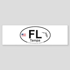 Florida City Sticker (Bumper)