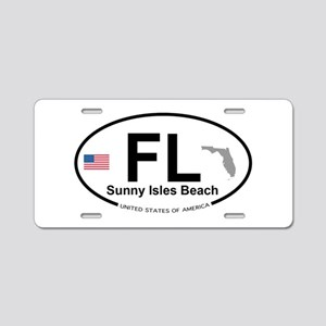 Florida City Aluminum License Plate