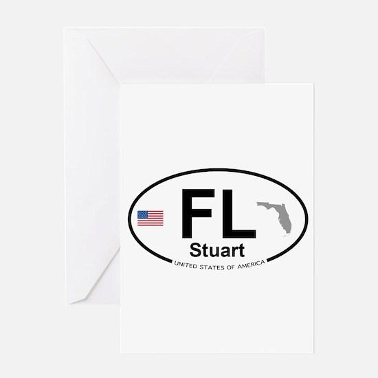 Florida City Greeting Card