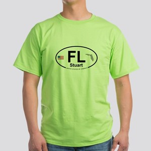Florida City Green T-Shirt