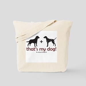 Lab/Dalmatian Tote Bag