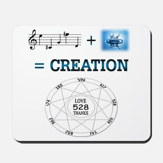 Solfeggio Creation Formula ~ Mousepad