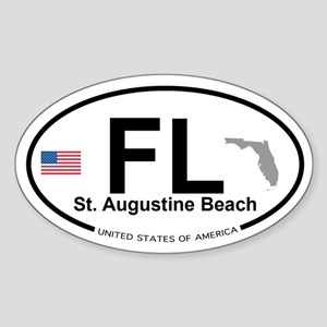 Florida City Sticker (Oval)