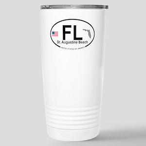 Florida City Stainless Steel Travel Mug