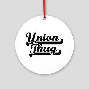 Union Thug Ornament (Round)