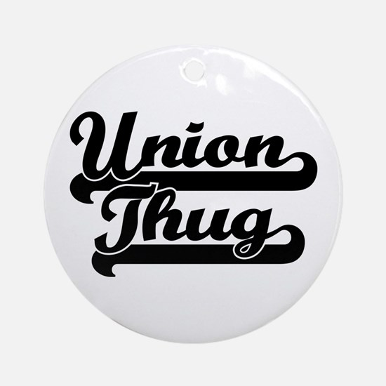 Union Thug Ornament (Round)