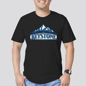 Keystone Blue Mountain Men's Fitted T-Shirt (dark)