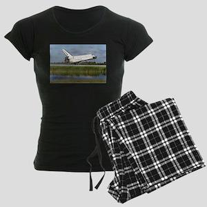 STS-86 Landing Women's Dark Pajamas