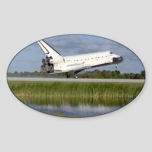 STS-86 Landing Sticker (Oval)
