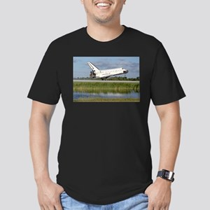 STS-86 Landing Men's Fitted T-Shirt (dark)