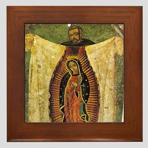 La Virgen De Guadalupe & Juan Diego Framed Til