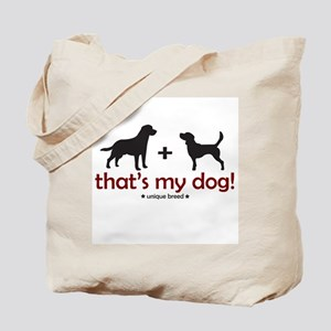 Lab/Beagle Tote Bag