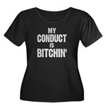 My Conduct Is Bitchin' Women's Plus Size Scoop Nec