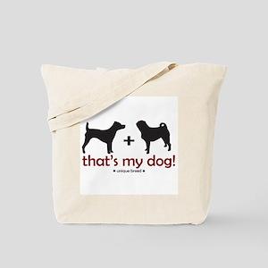 Terrier/Pug Tote Bag