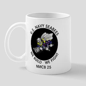 NMCB 25 US Navy Seabees Mug
