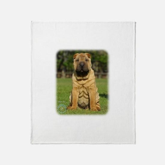 Shar Pei 9M100D-049 Throw Blanket