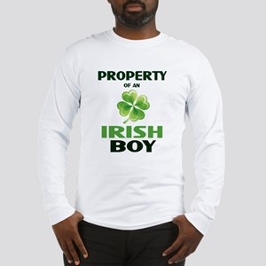 Property Of An Irish Boy Long Sleeve T-Shirt