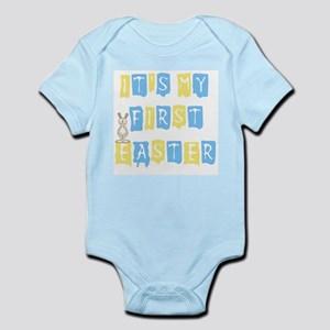 Cool Text 1st Easter (boy) Infant Creeper