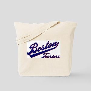 Boston Terriers SCRIPT Tote Bag