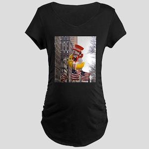 Betty - America! Maternity Dark T-Shirt