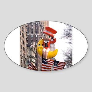 Betty - America! Sticker (Oval)