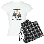 Christmas Greetings Women's Light Pajamas