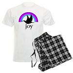 Doves Of Joy Men's Light Pajamas