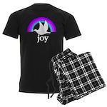 Doves Of Joy Men's Dark Pajamas