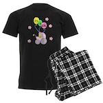 Its A Baby Girl Men's Dark Pajamas