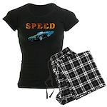 Speed Cars Women's Dark Pajamas
