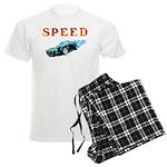 Speed Cars Men's Light Pajamas