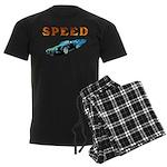 Speed Cars Men's Dark Pajamas