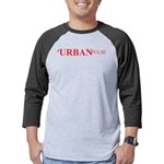 UrbanPulse,T-Shirt,-Logo Mens Baseball Tee