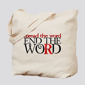 End the Word Tote Bag