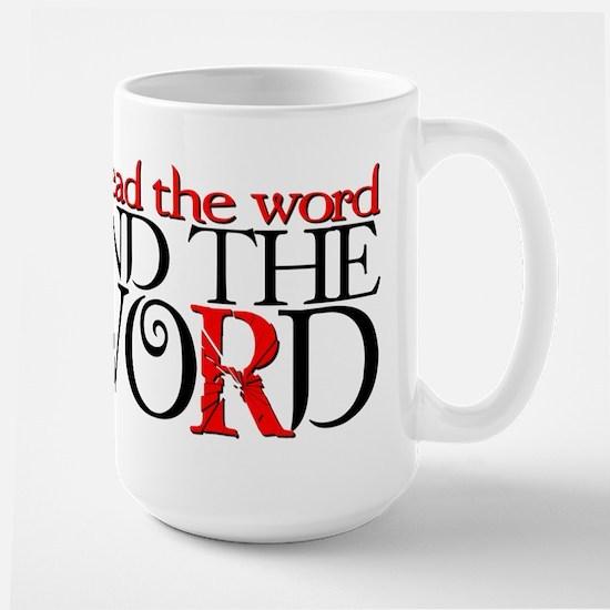 End the Word Large Mug