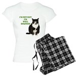 I'm not fat Women's Light Pajamas
