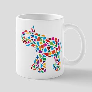 Abstract Elephant Mug
