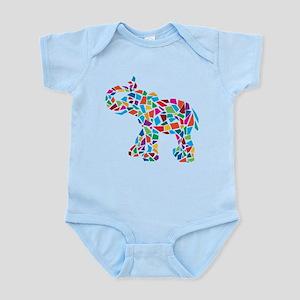 Abstract Elephant Infant Bodysuit