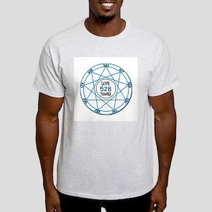 528Hz Love Frequency ~ Light T-Shirt