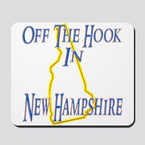 Off the Hook in NH Mousepad
