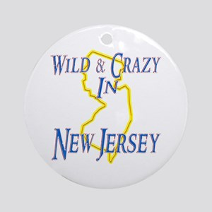 Wild & Crazy in NH Ornament (Round)