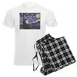 Starry Night Men's Light Pajamas