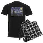 Starry Night Men's Dark Pajamas