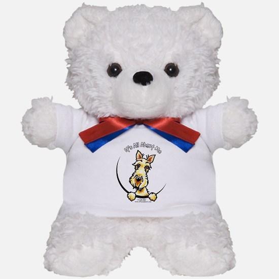 Wheaten Scottie IAAM Teddy Bear