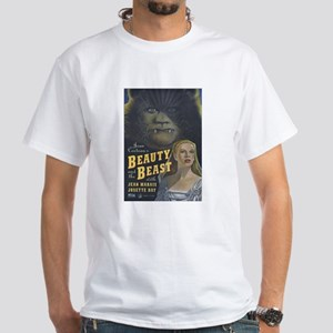 $19.99 Beauty and the Beast White T-Shirt
