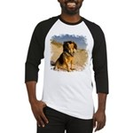 Beach Beagle Baseball Jersey