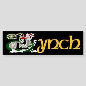 Lynch Celtic Dragon Bumper Sticker
